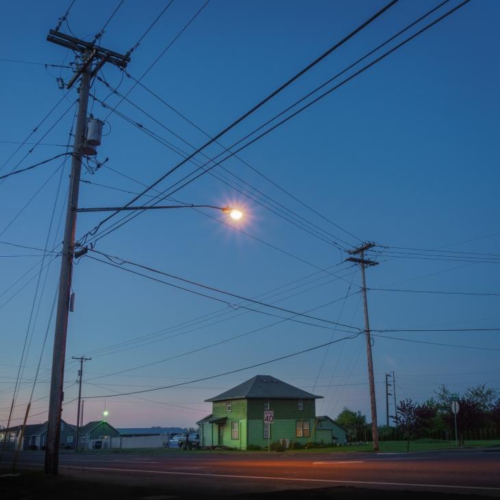 Suburban/rural landscape photograph